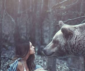 bear and girl image