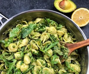 avocado, dinner, and food image