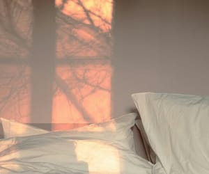 aesthetic, bed, and pink image
