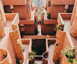 architecture, pink, and wanderlust image