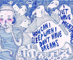 art, Dream, and nightmare image