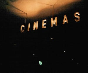 cinema, dark, and vintage image