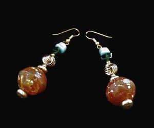 etsy, dangle earrings, and boho earrings image