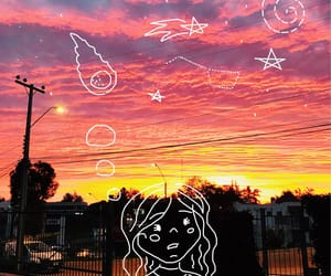 atardecer, lost, and pink image