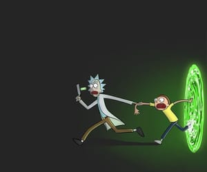rick and morty and wallpaper image