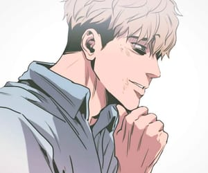 killing stalking, yoon bum, and oh sangwoo image