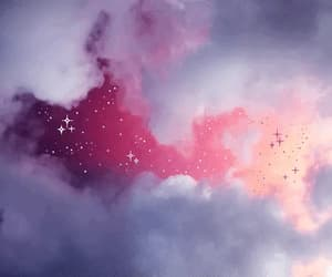 gif, clouds, and pink image