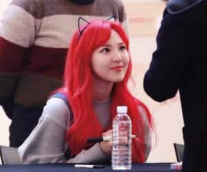 kpop, red, and red velvet image