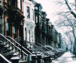 Brooklyn, new york, and snow image