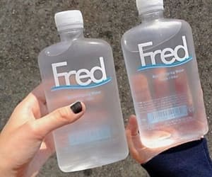 water, Fred, and drink image