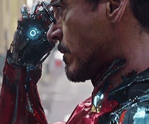 gif, iron man, and tony stark image