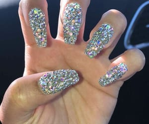 claws, diamonds, and short nails image