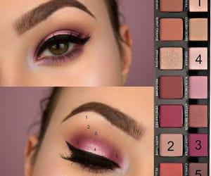 sombras, combinaciones, and tonos rosas image