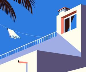 art, canary islands, and geometric image