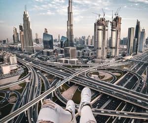 architecture, city life, and emirates image
