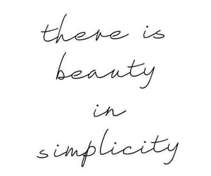 quotes, beauty, and simplicity image