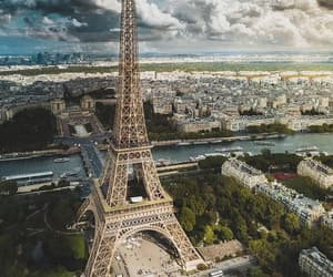 great view, paris, and photographie image