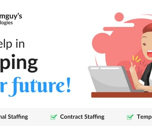contract staffing, resource staffing, and temporary staffing image