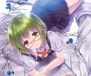 glasses, vocaloid, and gumi image