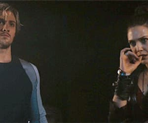 aaron johnson, Avengers, and elizabeth olsen image