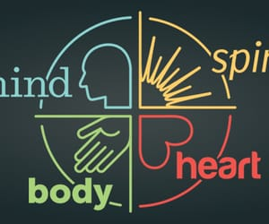 yoga, healthy body and mind, and body & soul image