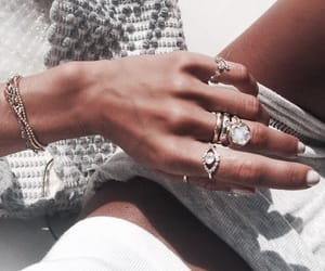 accessories, rings, and fashion image