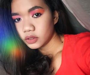 asian, eyebrow, and makeup image