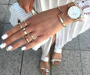 accessories, marble, and nails image