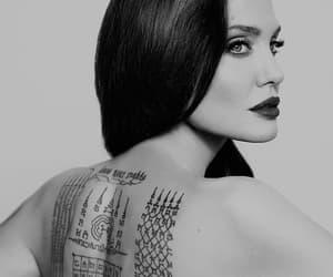 Angelina Jolie and Tattoos image