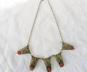 etsy, egyptian jewelry, and art deco jewelry image