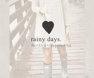 gloom, little things, and rainy days image
