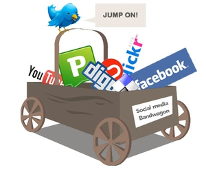 bebo, facebook, and Pownce image