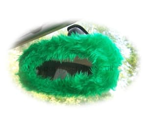 faux fur, car accessories, and fluffy image