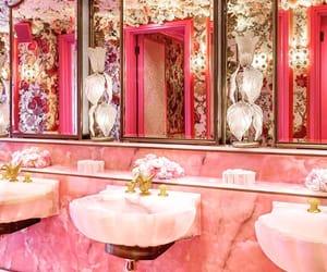 bathroom, food, and glamour image