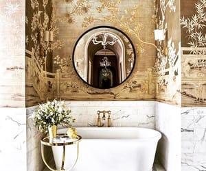Bain, fashion, and salle de bain image