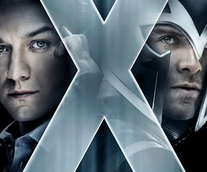 james mcavoy, magneto, and x-men image