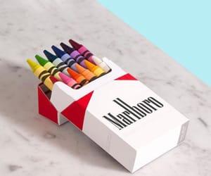 marlboro, art, and cigarettes image