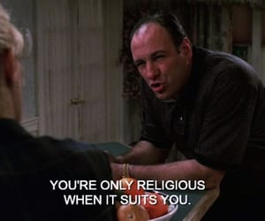 religious, tony, and sopranos image