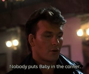 dirty dancing, baby, and patrick swayze image