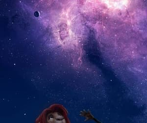 disney, wallpaper, and galaxy image
