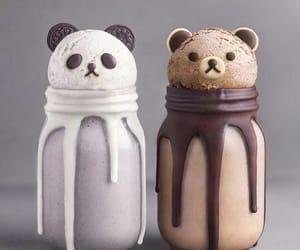 bear, chocolate, and panda image