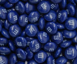 blue, candy, and m&m image
