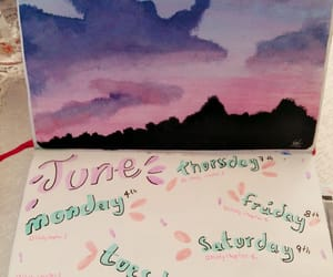 colors, inspiration, and journal image