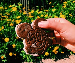 disney, mickey mouse, and snack image