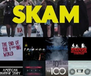dark, skam, and riverdale image