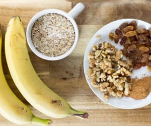 breakfast, oatmeal, and Cookies image