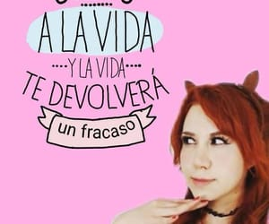 frase, wink, and mujer image