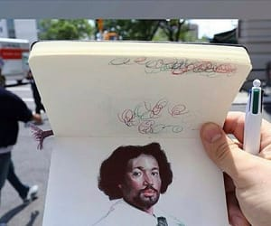 arte, dibujo, and pluma image