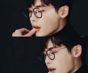 korean actor and lee jong suk image
