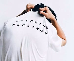 aesthetic, shirt, and catching feelings image